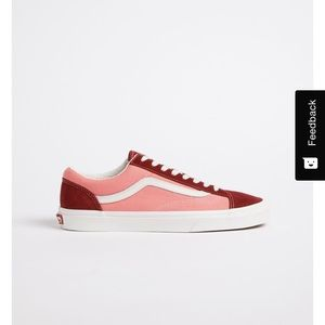 Limited Edition Vans 36 in Two-Toned Pink